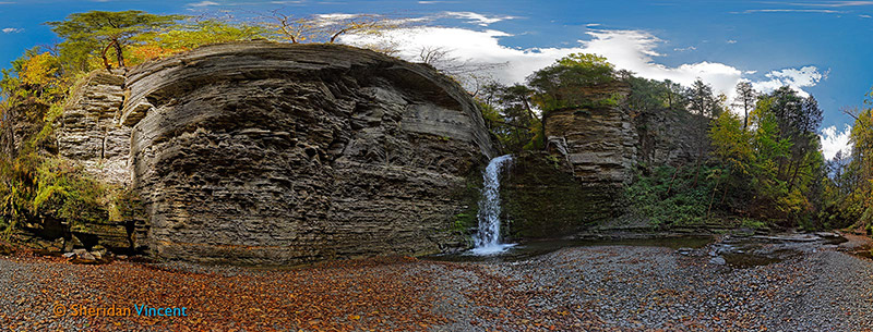 Eagle Cliff Falls by Sheridan Vincent