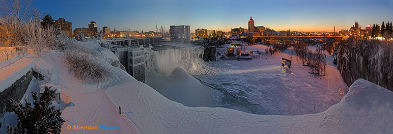 High Falls, Iced by Sheridan Vincent